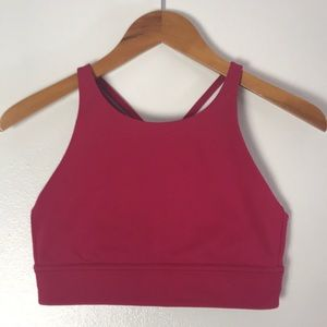 Lululemon Soul Cycle Workout Top. RED SZ8